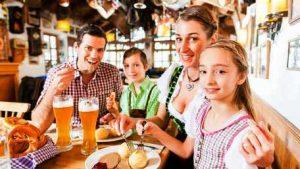 как питаются в германии