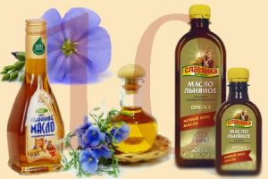 лен, льняное масло