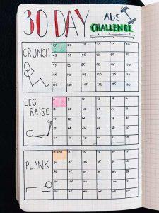 фитнес дневник в тетради