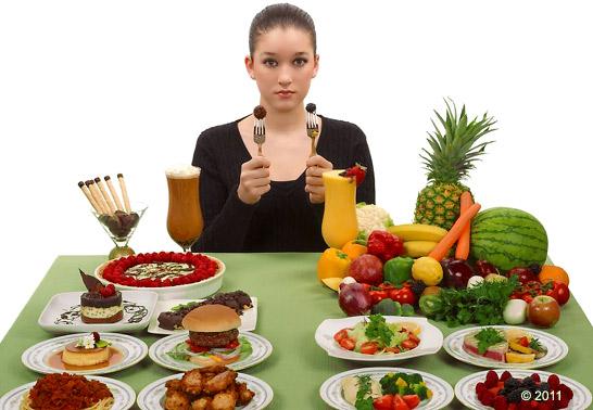 обработанная или натуральная пища