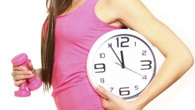результат похудения и время