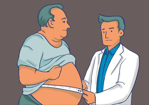 лишний жир на животе