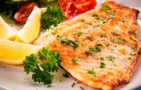 рыба тилапия с лимоном и чесноком